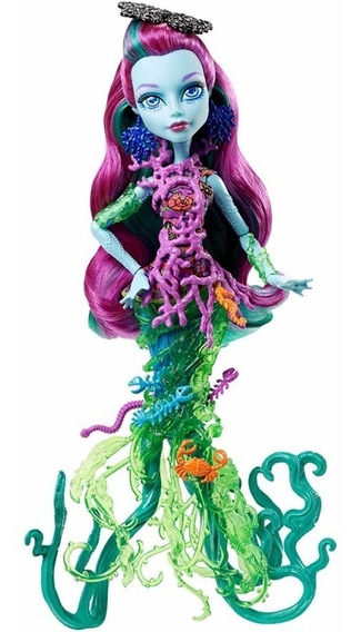 Boneca Assustadora Barreira De Coral Posea Reef Monster High