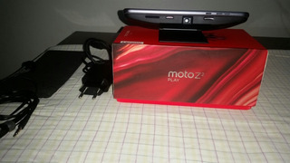 Moto Z2 Play Platinum, 64 Gb Com Snap.
