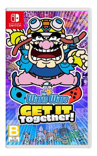 Imagen 1 de 6 de Warioware Get It Together - Nintendo Switch Nuevo
