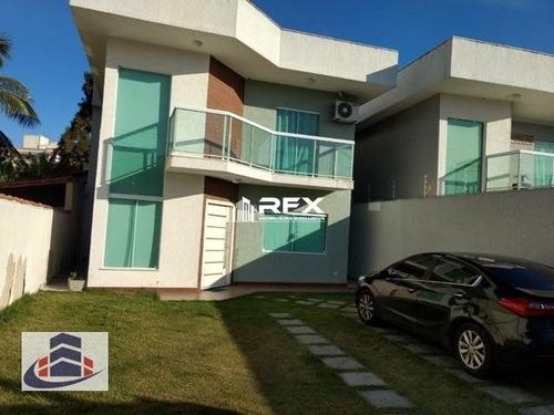 Casa Com 3 Dormitórios À Venda - Itaipu, Niterói/rj - Cav8214