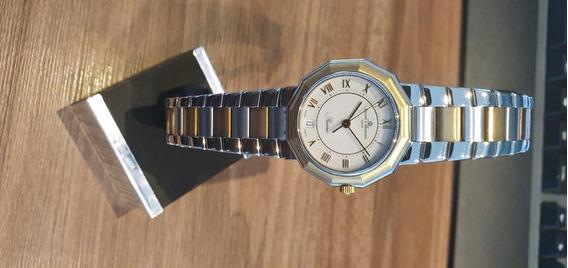 Relógio Suíço Baume Et Mercier Riviera Fem Automatico Ouro