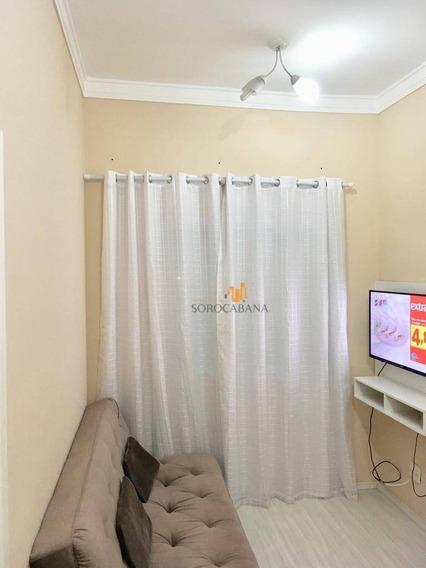 Apartamento Com 2 Dormitórios À Venda, 48 M² Por R$ 200.000,00 - Condomínio Vida Plena Campolim - Sorocaba/sp - Ap0045