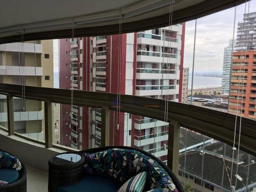 Apartamento Com 2 Dormitórios À Venda, 100 M² Por R$ 850.000,00 - Canto Do Forte - Praia Grande/sp - Ap1351