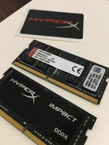 Memória Ram Kingston Hyperx Impact 8gb 2400mhz Ddr4 P/ Note