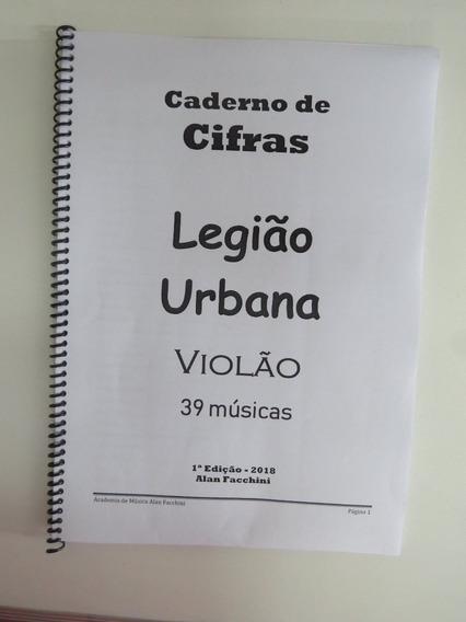 Cifras Violão Legião Urbana Impresso 39 Músicas + Solos
