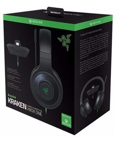 Headset Razer Kraken Xbox One Com Adaptador Novo