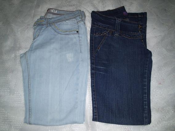 Calça Jeans Tamanho 42 Lote 2 Peças