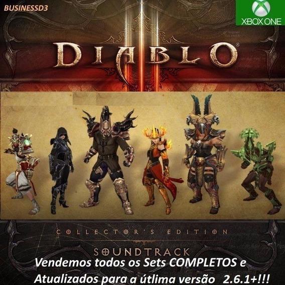 Itens Diablo 3 - O Melhor Combo -xbox One - 4 Set Completos.