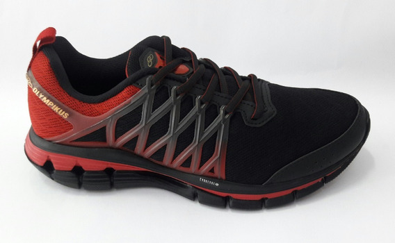Tenis Olympikus Energia -vermelho/preto /796