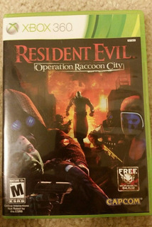 Resident Evil Operation Raccoon City Xbox 360 Barato