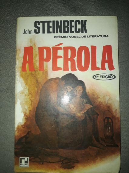 Livro - A Pérola - John Steinbeck - Ed. Record