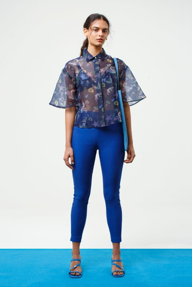 Pantalon Wddle Azul Las Pepas