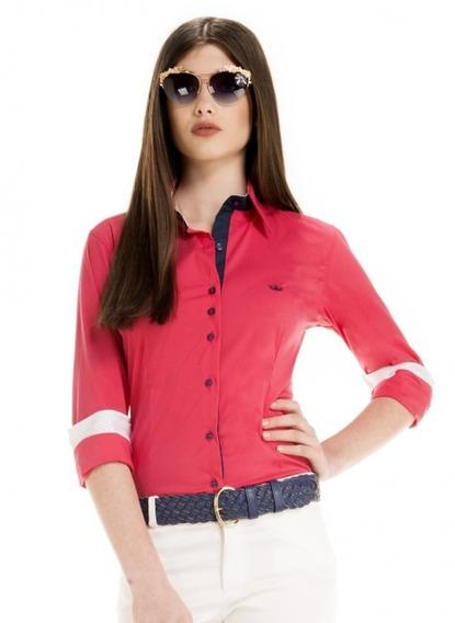 Blusa Para Reuniões Vermelha Principessa Tabita