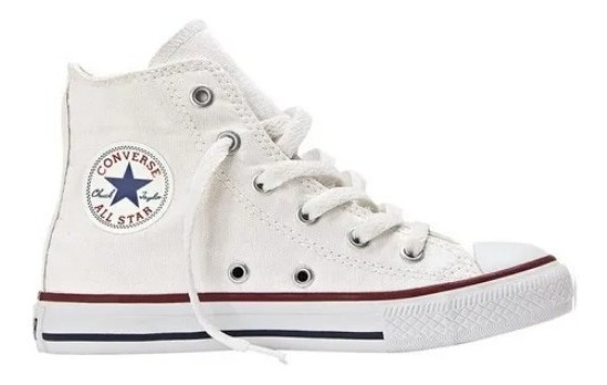 Converse All Star Bota Niñx 27 Al 34 Blanco 356999c