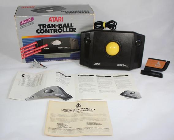 Trak-ball Joystick Sem Uso [ Atari 2600 7800 Cib] Controller