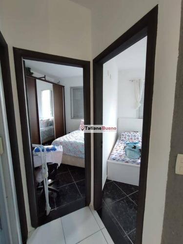 Apartamento Com 2 Dormitórios À Venda, 53 M² Por R$ 200.000 - Centro - São José Dos Campos/sp - Ap2447
