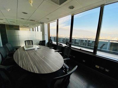 **oficina 15 Privados-4 Baños Con Vista-apoquindo / El