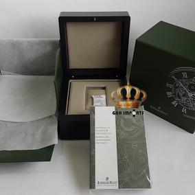 Caixa Relógio Audemars Piguet Box Estojo Completo - Novo