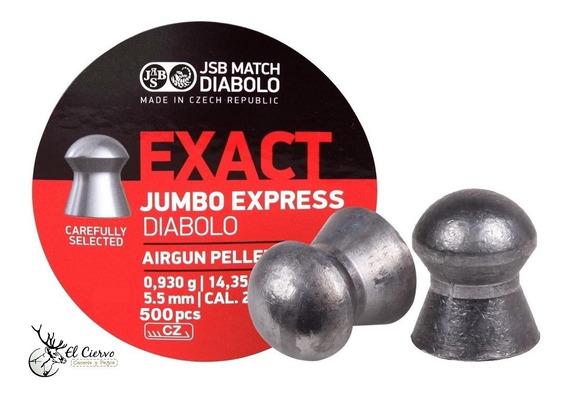 Diabolos Jsb Exact Express Cal .22 14.35gr Con 500