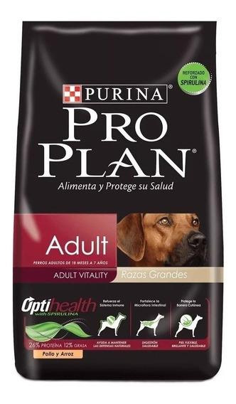 Ração Pro Plan Adult cachorro adulto raça grande frango/arroz 15kg