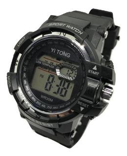 Reloj Deportivo Digital Sumergible Cronometro Luz Oferta !!