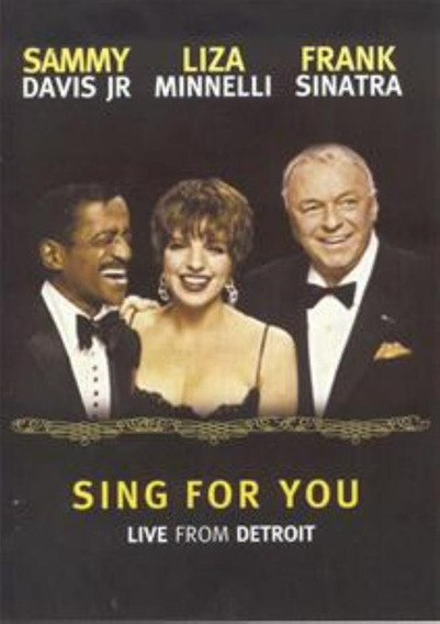 Sammy Davis Jr Liza Minnelli Frank Sinatra Sing For You Dvd