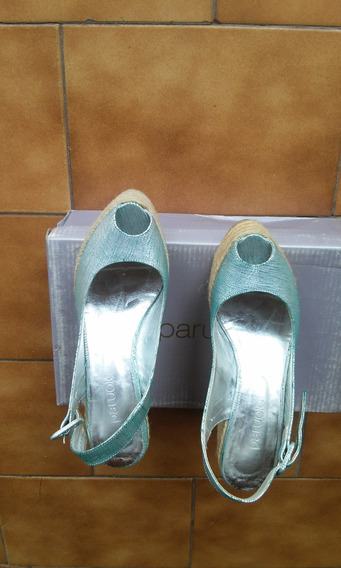 Vendo Zapatos Con Plataforma Paruelo!!