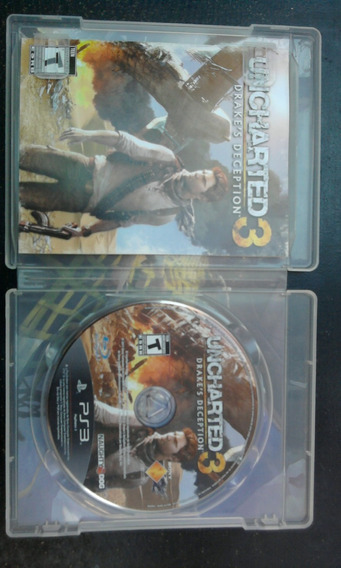 Uncharted 3 Gamer Ps3
