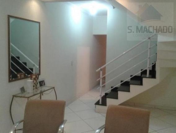 Sobrado Para Venda Em Santo André, Jardim Ana Maria, 3 Dormitórios, 1 Suíte, 1 Banheiro, 2 Vagas - Ve0090