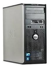 Cpu Dell 780 Core 2 Duo 4gb Ddr3 250gb Wind10