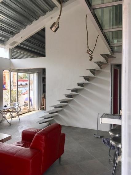 Penthouse Unico En Coyoacan Contemporaneo Amueblado, Terraza