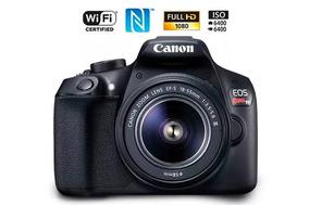 Câmera Dsrl Canon T6 Seminova (só 6k Clicks)