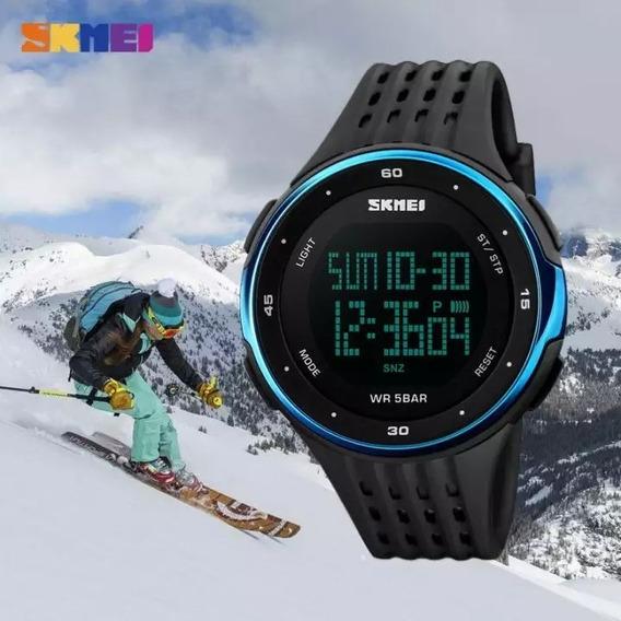 Relógio Masculino Digital Esportivo Original Da Skmei Promo