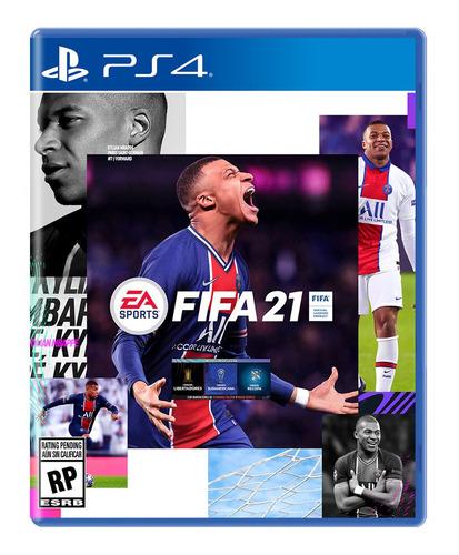 Juego Fifa 21 Ps4 Y Ps5 Físico En Español Original
