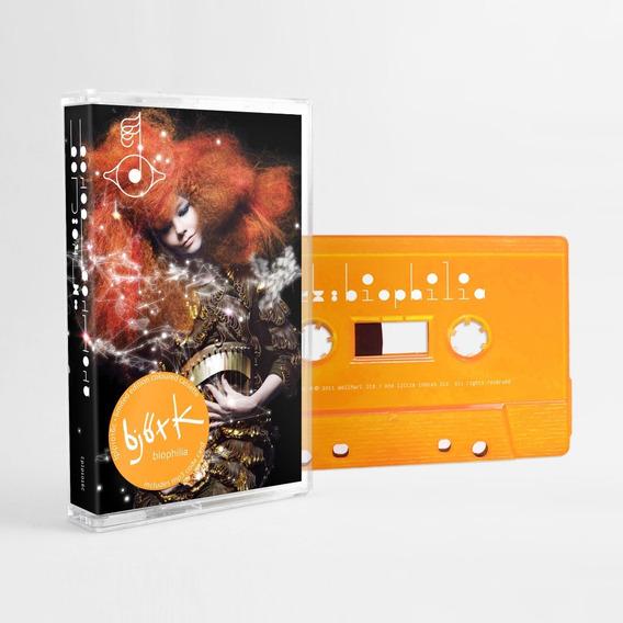 Bjork Biophilia Cassette Nuevo Importado En Stock 2019