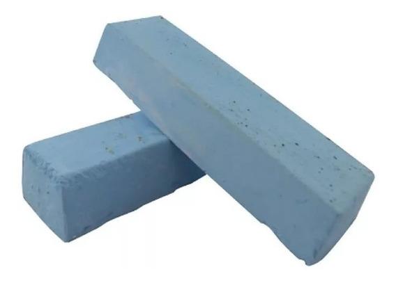 10 Un Massa Azul - Pedra 1,3kg - Alto Brilho -tampa Motor Cm