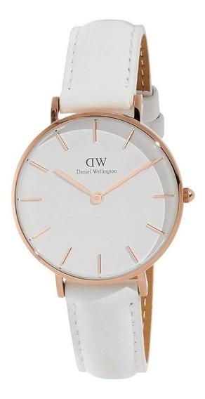 Reloj Daniel Wellington Petite Bondi Dorado Blanco 28mm