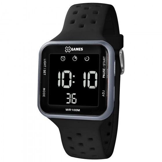 Relógio X Games Xgppd091 Pxpx Quadrado Preto - Refinado