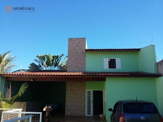 Casa Residencial À Venda, Próximo Ao Centro De Jardinópolis. - Ca0824