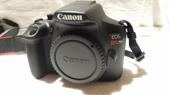 Canon Revel T6 Con Objetivos