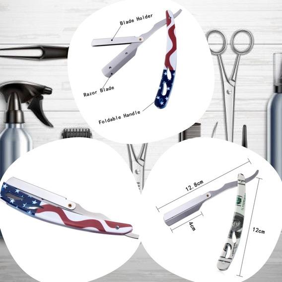 Navajas Acero Inoxidable Barbero Barber Shop