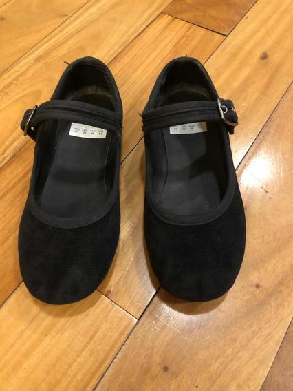 Zapatos De Gamuza Mimo N. 27 Impecables