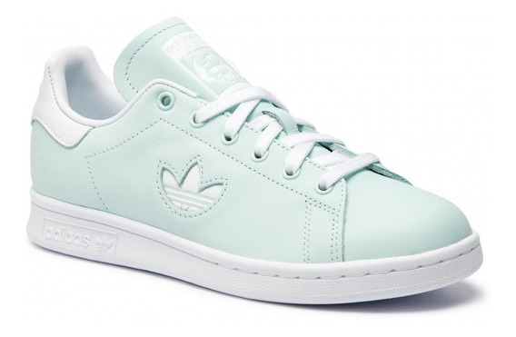 Tenis adidas Stan Smith Mujer Clásico Casual Tela Originals