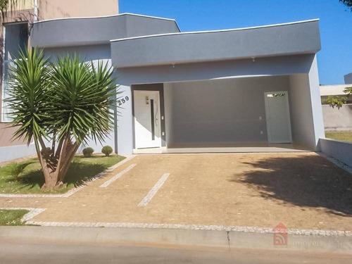 Casa Com 3 Dormitórios À Venda, 190 M² Por R$ 640.000,00 - Condomínio Campos Do Conde Ii - Paulínia/sp - Ca1251