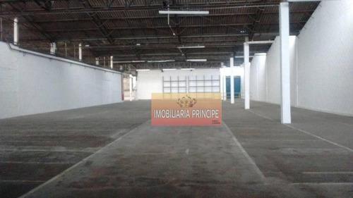 Imagem 1 de 8 de Galpão Para Alugar, 8000 M² Por R$ 95.000/mês - Vila Nogueira - Diadema/sp - Ga0002