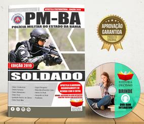 Apostila Pm-ba - Soldado - 2019 Completa E Atualizada