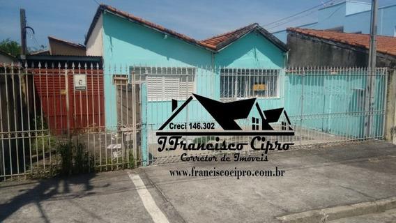 Casa A Venda No Bairro Pedregulho Em Guaratinguetá - Sp. - Cs043-1