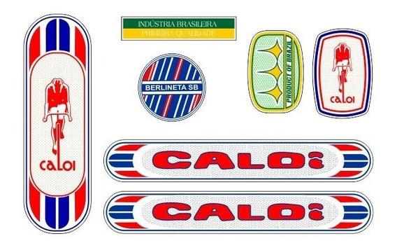 Adesivo Não Decal Bicicleta Caloi Berlineta 1974 Sb