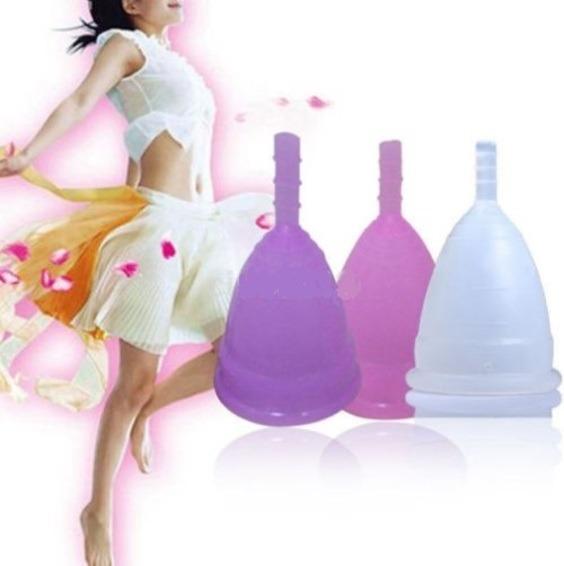 Copa Menstrual Silicona Médica S Y L Viva Cup