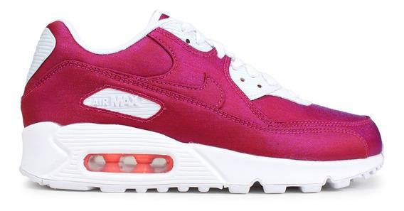 Nike Air Max 90 Se Hyper Crimson Mujer Originales Cod 0212